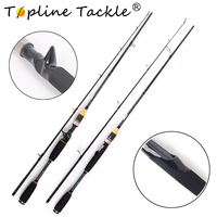 Topline Tackle Celsus Spin 180 10 30' Cheap Good fishing carbon spinning rod with good quality handle