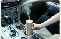 Humidifier Ultrasonic Wooden Fragrance Oil Machine 50ML Car Power USB AC 6 14CM Size High Quality