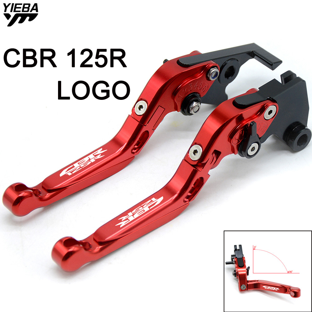 Motorcycle Adjustable Folding Extendable Brake Clutch Levers for HONDA CBR125R CBR 125R CBR 125 R 2005 2010 2011 2012 2013 2014