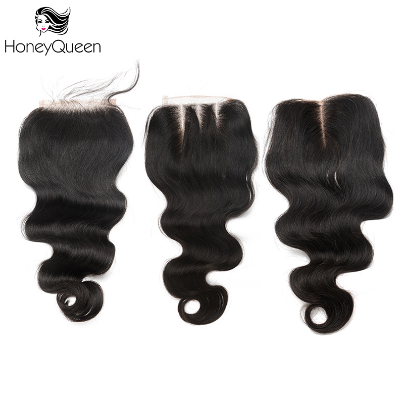 Body Wave 5x5 Lace Closure Brazilian Remy font b Hair b font Baby font b Hair