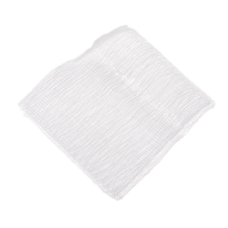 10Pcs First Aid Kit Wound Dressing Big Gauze Pad  Care Sterile 7.5x7.5cm T4MB