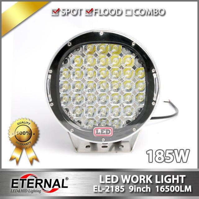 12pcs-9in 185W ARB led driving light for ATV,UTV,off-road, 4x4 racing, marine,dune buggy,4WD vehicles highbrightness work lamp