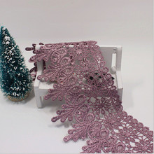 3 Yards 8.5 CM Lace Trim Lace Applique 9 Colors Polyester for Clothes Home Textiles Apparel Sewing Lace Fabric