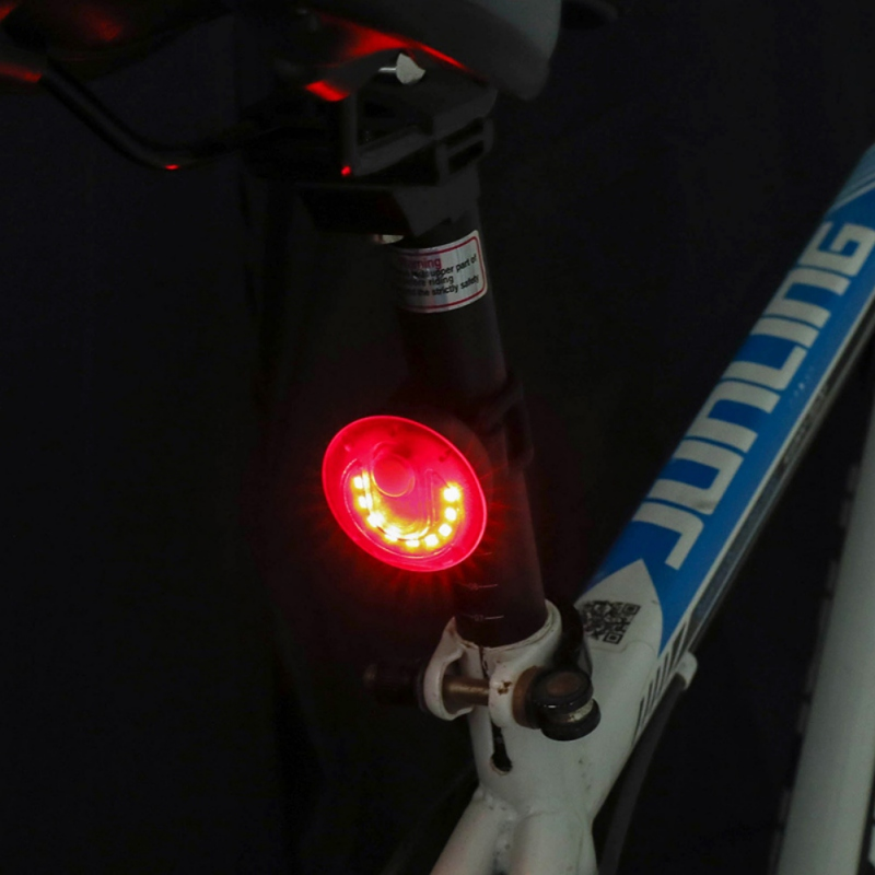 Rear Light Outdoor Night Bicycle Cycling Lamp Taillight Warning Bike Safety