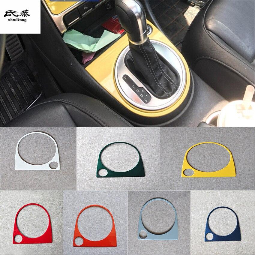 1 pcs/lot voiture autocollants accessoires de voiture ABS matériel lève-vitre panneau décoration couverture pour 2013-2018 Volkswagen VW Beetle