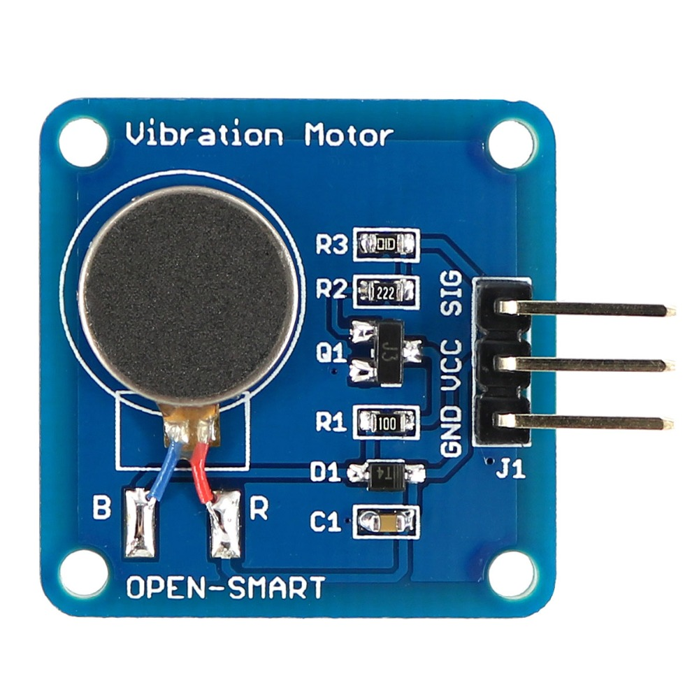 Vibration Motor module Mini Flat Vibrating DC Motor for Arduino plastic