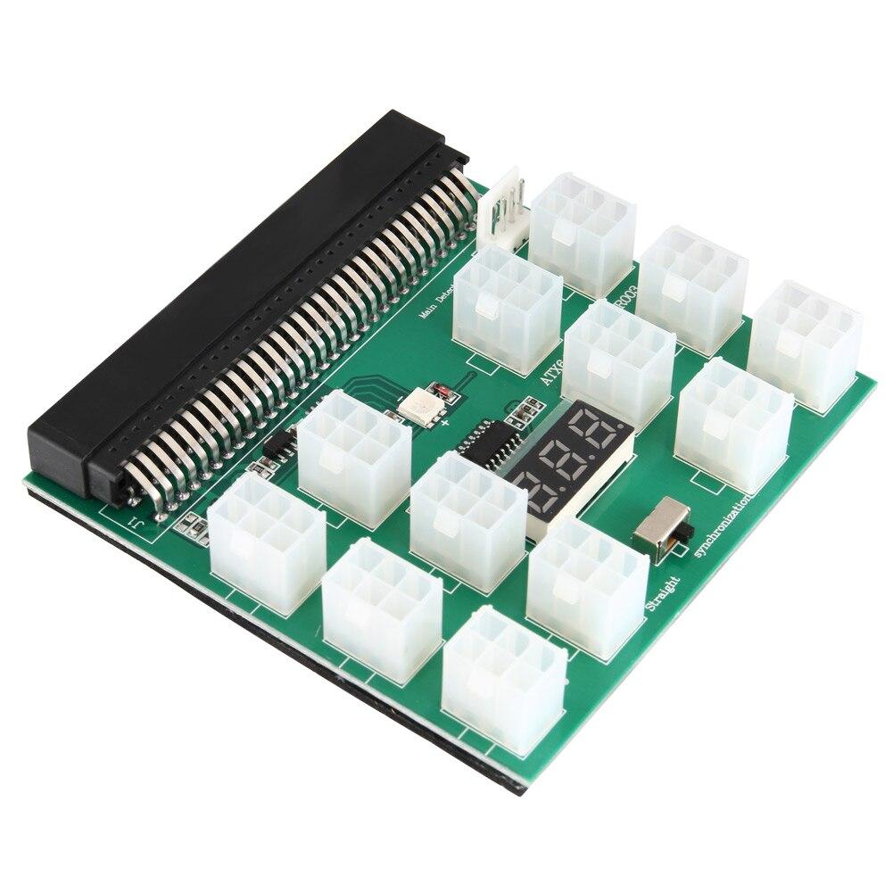 1200 watt/750 watt Breakout Board für GPU Leerlauf Rig Bergbau Ethereum ZEC ZCASH ETH XXM8