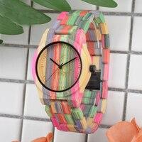 2018 Bracelet wood watch Women's Wooden Watches Women Relojes de Madera Mujer Watch Styles art Luxury Famous Brand wood watch