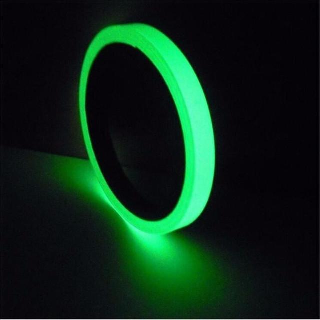 Self-Adhesive Photoluminescent Night Vision Glow In Dark Luminous Tape