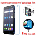 Нано взрывозащищенные Мягкий Стекло Clear Screen Protector Защитная Пленка Lcd Для Alcatel One Touch Pop Star 3G 5022X 5022D 5022