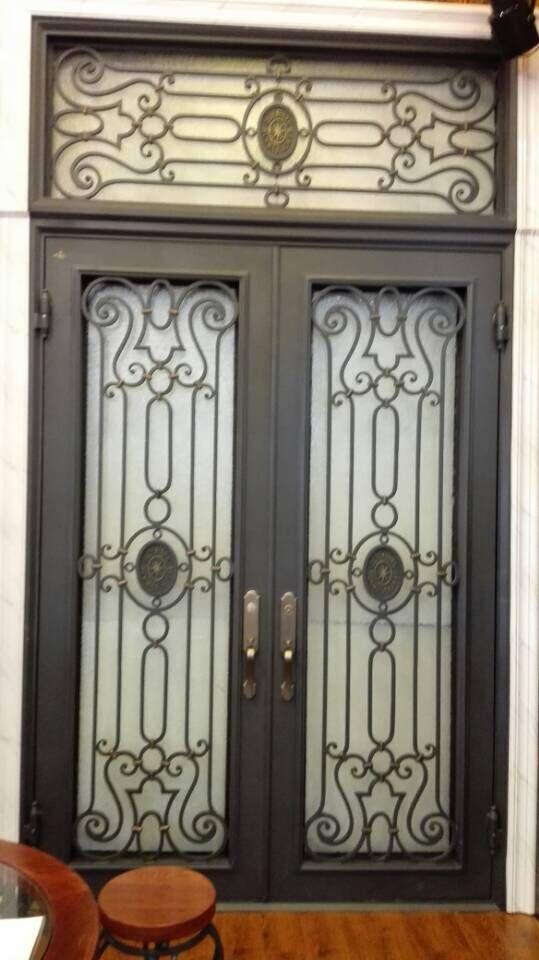 Entry Doors Wrought Iron Railing Metal Doors For Sale