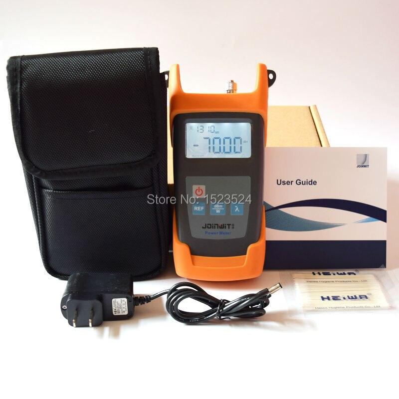 JW3211A Portable -70~+10dBm Fiber Optic Tester Optical Power MeterJW3211A Portable -70~+10dBm Fiber Optic Tester Optical Power Meter