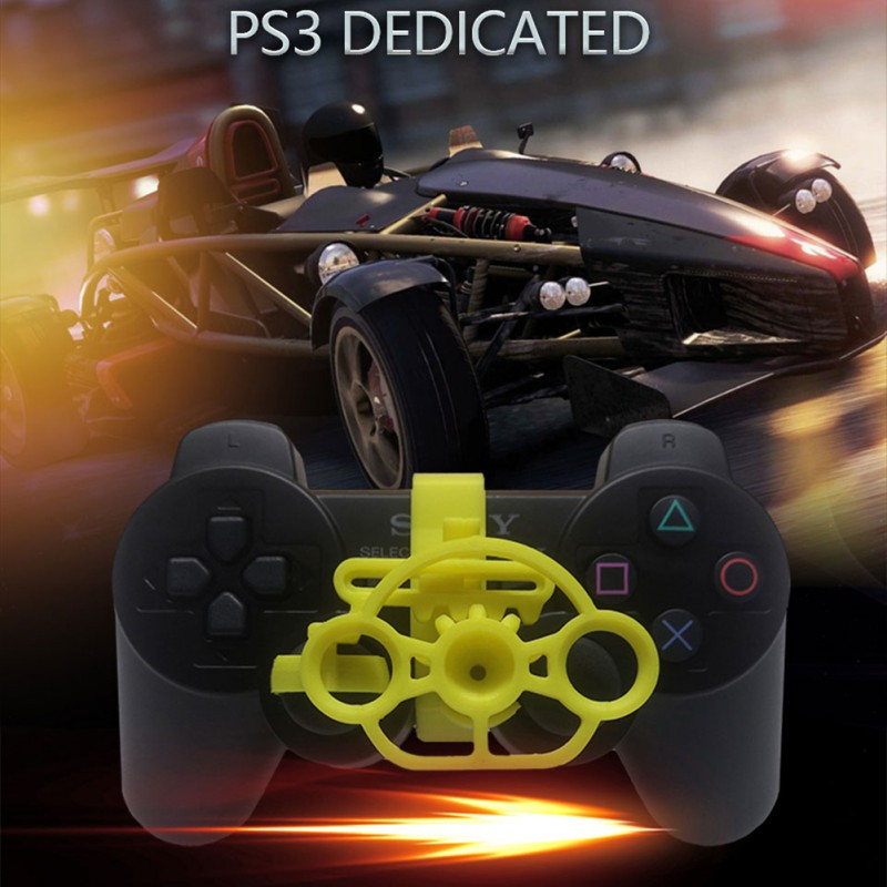 For PS4 PS3 Wireless Gamepad Joysticker Steering Wheel New PC Computer Racing Game Controller Steering wheel Simulation Driver image