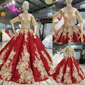 Image 2 - AIJINGYU חתונה שמלות לבנון שמלות סקסי פשוט סביר ליד לי זול בטורקיה חנות צבעים חתונה שמלה קצרה בתוספת גודל