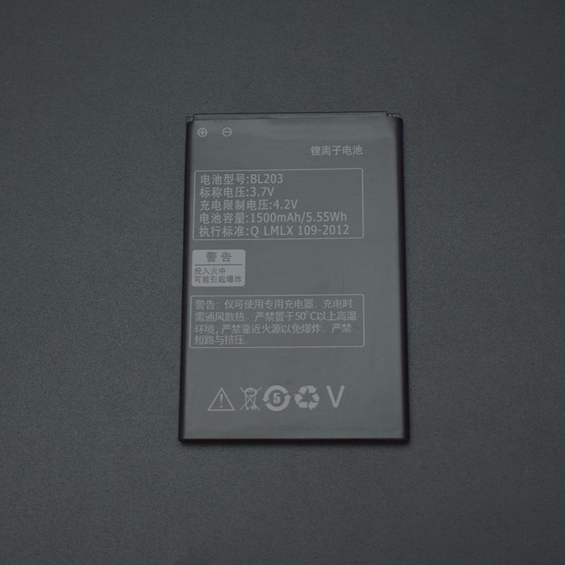 For Lenovo A66 battery BL203 High Quality 1500mAh Battery Replacement for Lenovo A66 A278T A365E A308T A369 A318T A385E