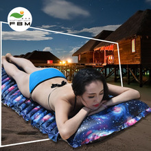 Outdoor tent moistureproof cushion car travel inflatable bed single person double personal waterproof air