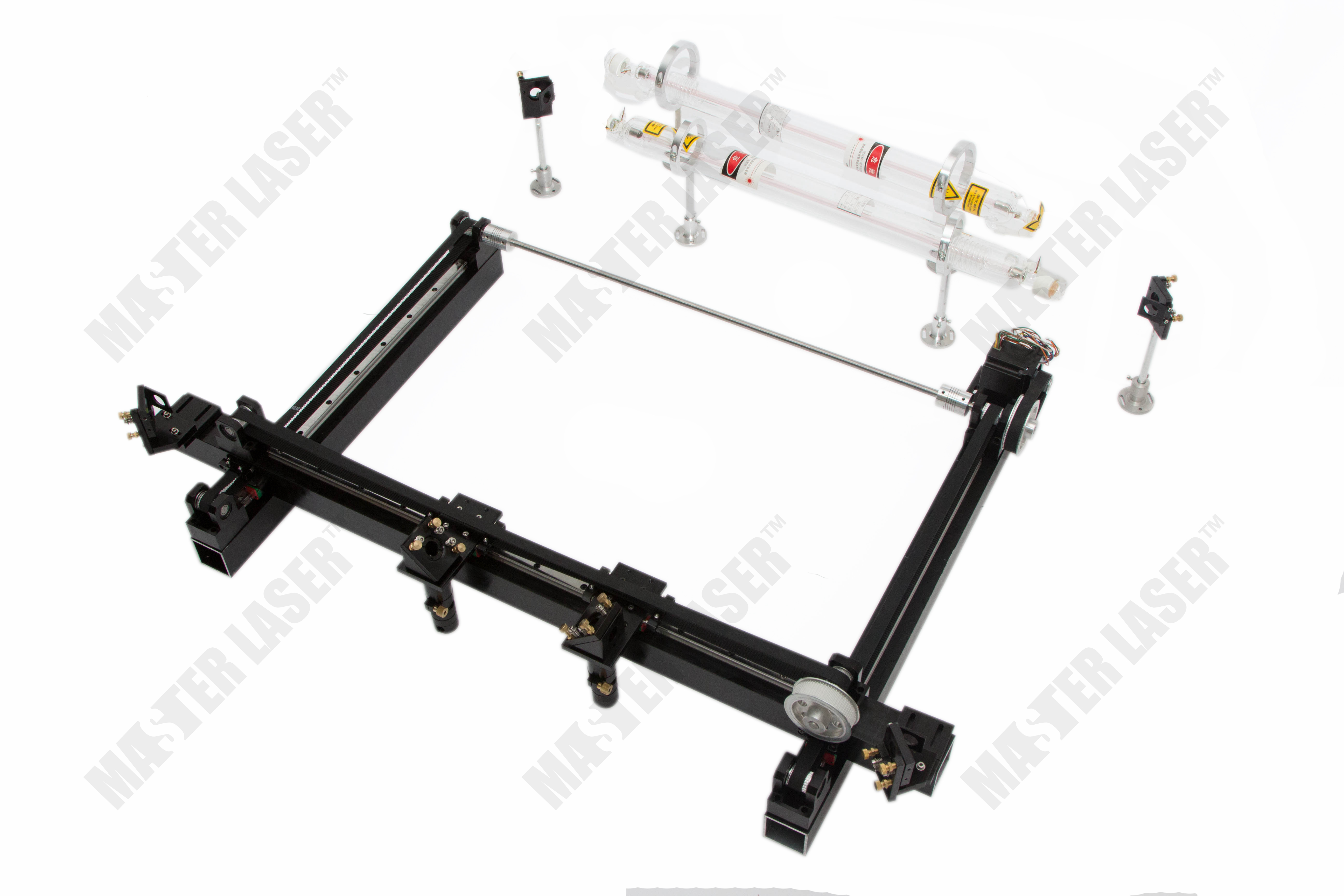 Best Quality Work Table 100*80 CO2 Laser Cutting Machine for Wood Crafts Mirror Mount 2 Laser Heads economic al case of 1064nm fiber laser machine parts for laser machine beam combiner mirror mount light path system