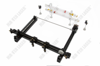 Best Quality Work Table 100*80 CO2 Laser Cutting Machine for Wood Crafts Mirror Mount 2 Laser Heads