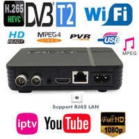Mini New DVB-T2 H.265/HEVC Full Compatible DVB-T/H264 Terrestrial Digital Receiver For Germany Netherlands Czech Europe Country
