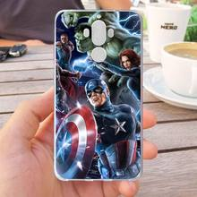 Mutouniao Avengers Design-11 Silicon Soft Case Cover For Huawei Honor 6X 8 Pro V9 4C 5C 7X 7C V10 Mate 7 8 9 10 P20 Pro Lite(China)