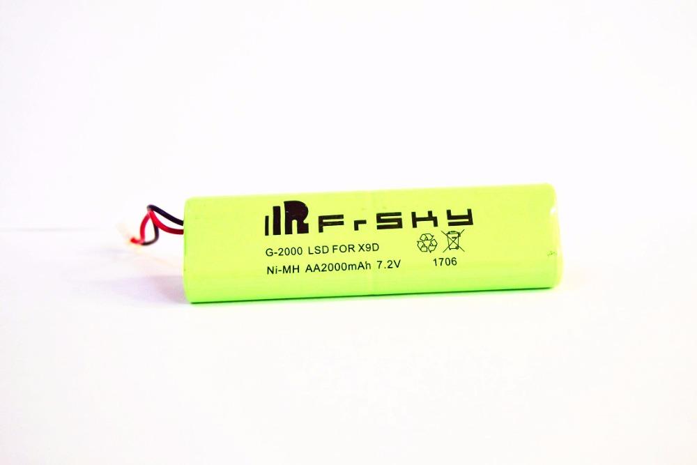 Hot New FrSky 2000mAh 7.2V Battery For Taranis X9D Transmitter/Frsky TARANIS X9D Plus Spare Part EVA Portable Protective Case
