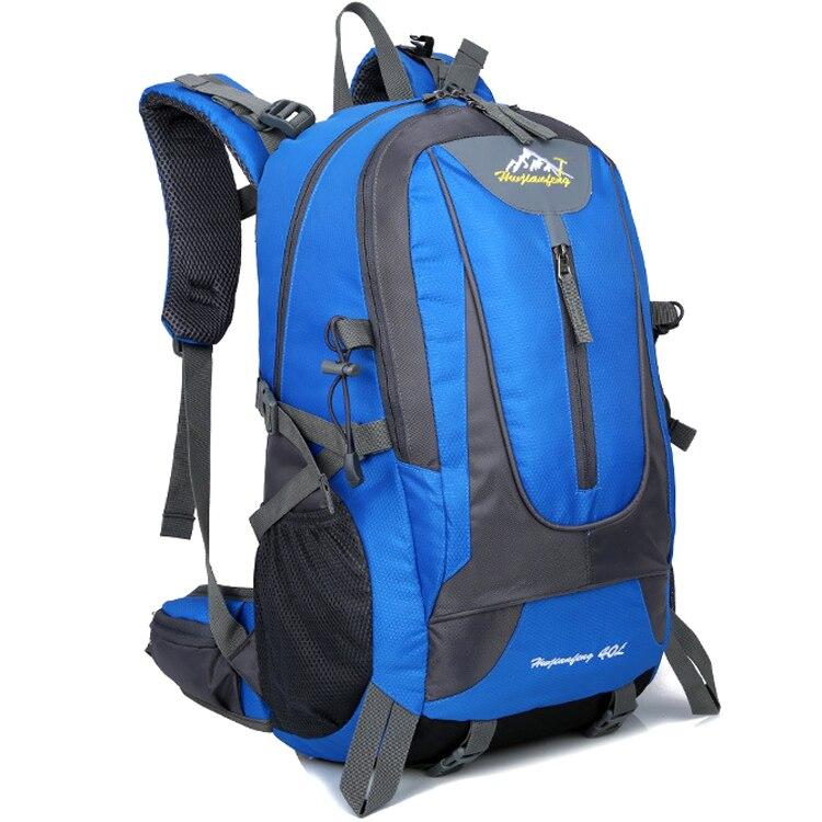 Camping Hiking Backpack Sports Bag Outdoor Travel Trekk Rucksack Mountain Climb Equipment 40L Men Women Teenager