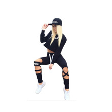 2017 Two Piece Set Tracksuit Camouflage Sexy Sleeveless Sweatsuits For Women Sets Cropped Survetement femme military
