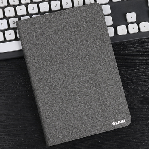 gray Gray tablet bag flip leather case for Apple ipad 10 2 protective Stand Cover Silicone soft shell