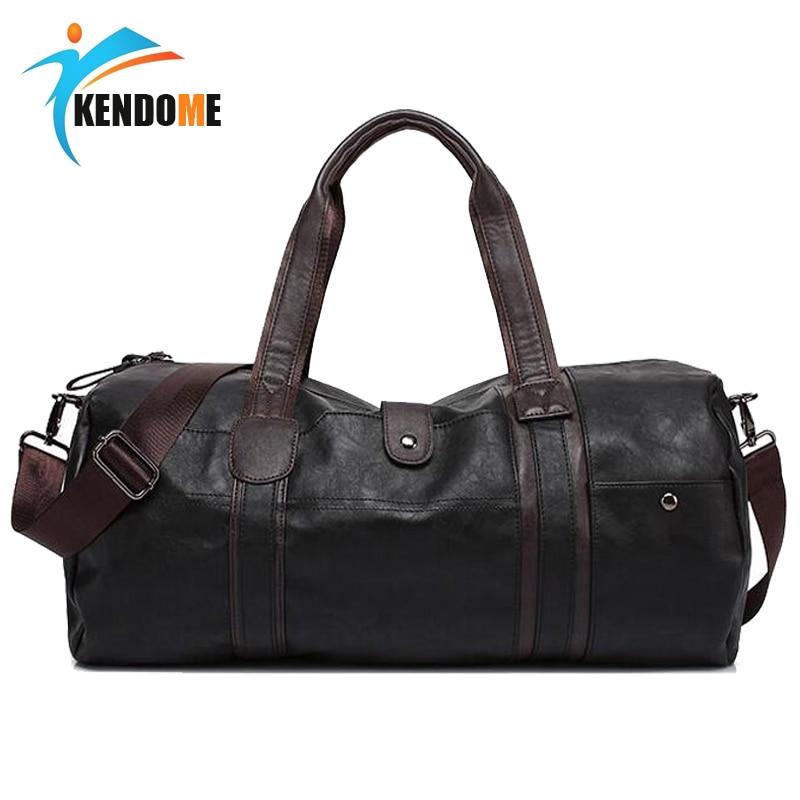 sportovní taška graco - Hot A++ Quality Men Classic Soft Leather Fitness Gym Bag Black Brown Cylindrical Sports Bag Designer Single Shoulder Travel Bag