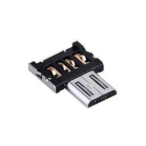 Image 3 - Ücretsiz kargo Yeni DM OTG adaptörü 50 adet/grup OTG fonksiyonu Dönüş normal USB içine Telefon USB flash sürücü Cep Telefonu Adaptörleri