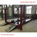 Hohe Qualität Vier Säulen-hebebühne Mit Ausrichtung Jack 3500 kg Mit Zweitens Wagenheber