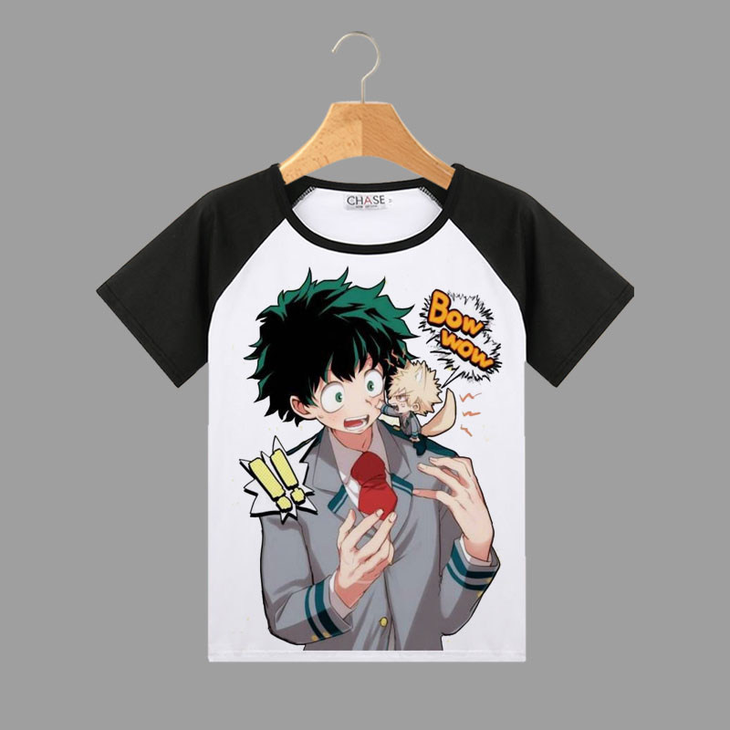 New My Hero Academia Izuku Midoriya Bakugou All Might Himiko Toga Anime T-Shirt