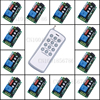 220V 1CH RF Wireless Remote Control Switch Light Lamp LED ON OFF 12Receivers Learning Code Output