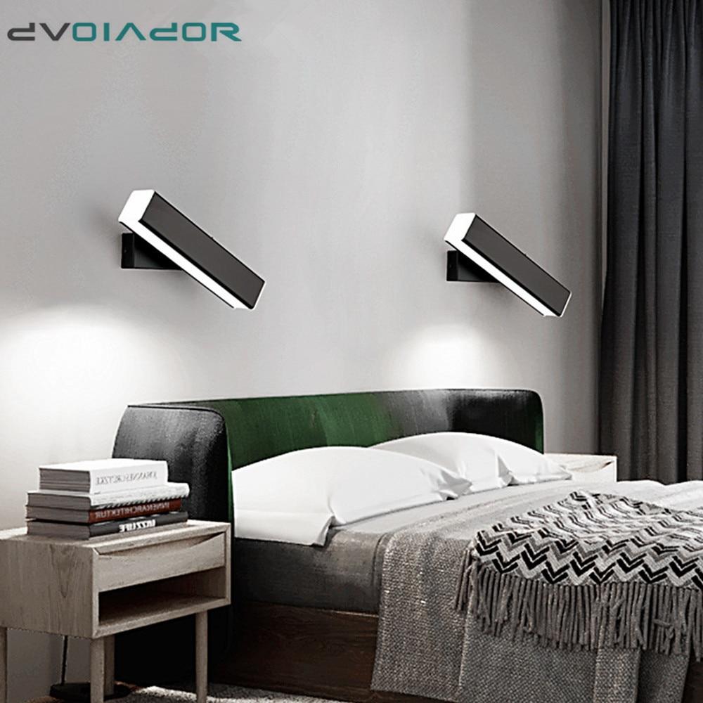 nordico moderno lampada de parede led aluminio ao ar livre indoor ip65 led girado led luz
