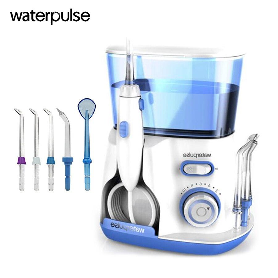 Adbantage Water flooser Oral Irrigator 10 pressure setting 800ml water tank Dental Water Floss pick teeth