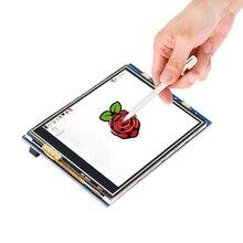 Raspberry Pi 3.2 дюймов ЖК-дисплей 320*240 сенсорный экран модуль TFT для Raspberry Pi 3 2 Модель B Бесплатная доставка
