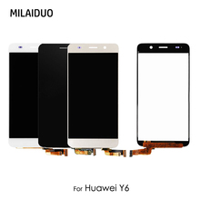 цены на Original LCD Display For Huawei 4A Y6 SCL-L01 SCL-L21 scl-u31 Touch Screen Digitizer Assembly Replacement No Frame 100% Tested  в интернет-магазинах