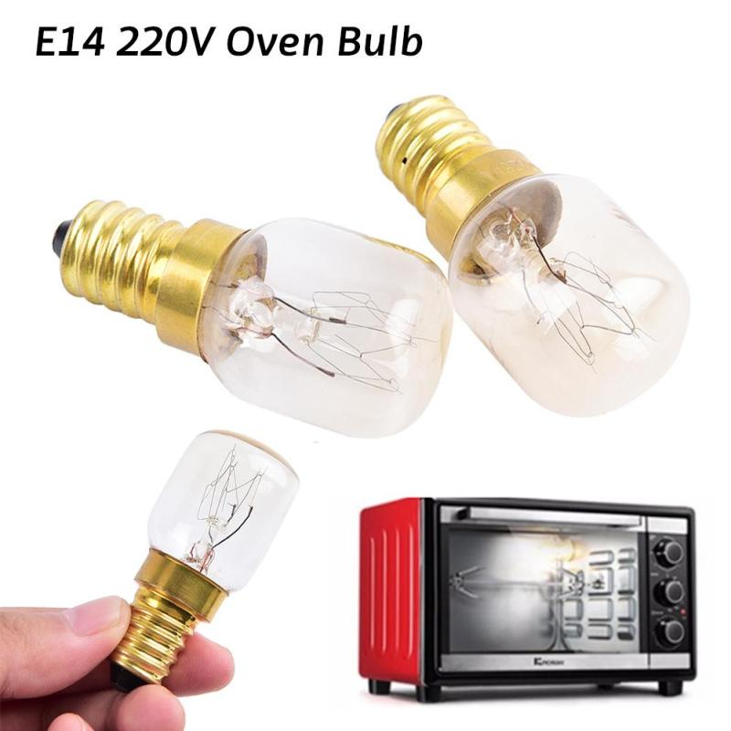 Retro T25 Oven Bulb 25W High Temperature 300 Degree E14 Incandescent Bulbs Light Hood Cooker Lamp 220V-240V 1PC For Toastor