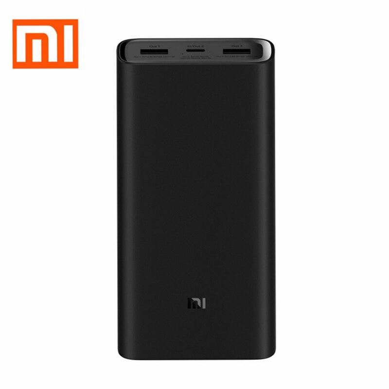 20000 mAh Xiao mi mi batterie externe batterie externe Banque charge rapide Powerbank 2 sortie usb pour Téléphone