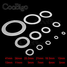 20 pcs Plastik Batal Nylon Washer Shim Spacer Washer Isolasi Segel O-ring Gasket Cincin Mata Ikan Datar 12 Ukuran Pick M5 ~ M41(China)