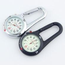 Часы наручные alk с карабином Карманные Медицинские спортивные