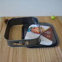 Square bottom with a lock at the end of live cake mold baking pan special oven mold