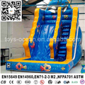 Amusement park ocean kids inflatable water slides ,slide with pool
