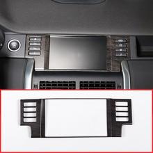 Дубовый Стиль салона навигации gps Панель украшения Рамка для Land Rover Discovery Спорт 2015-2017 автомобильные аксессуары