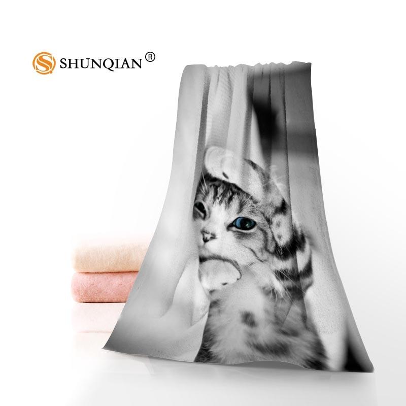 Custom Creative: Cute Cats Towels Microfiber Bath Towels Travel,Beach,Face