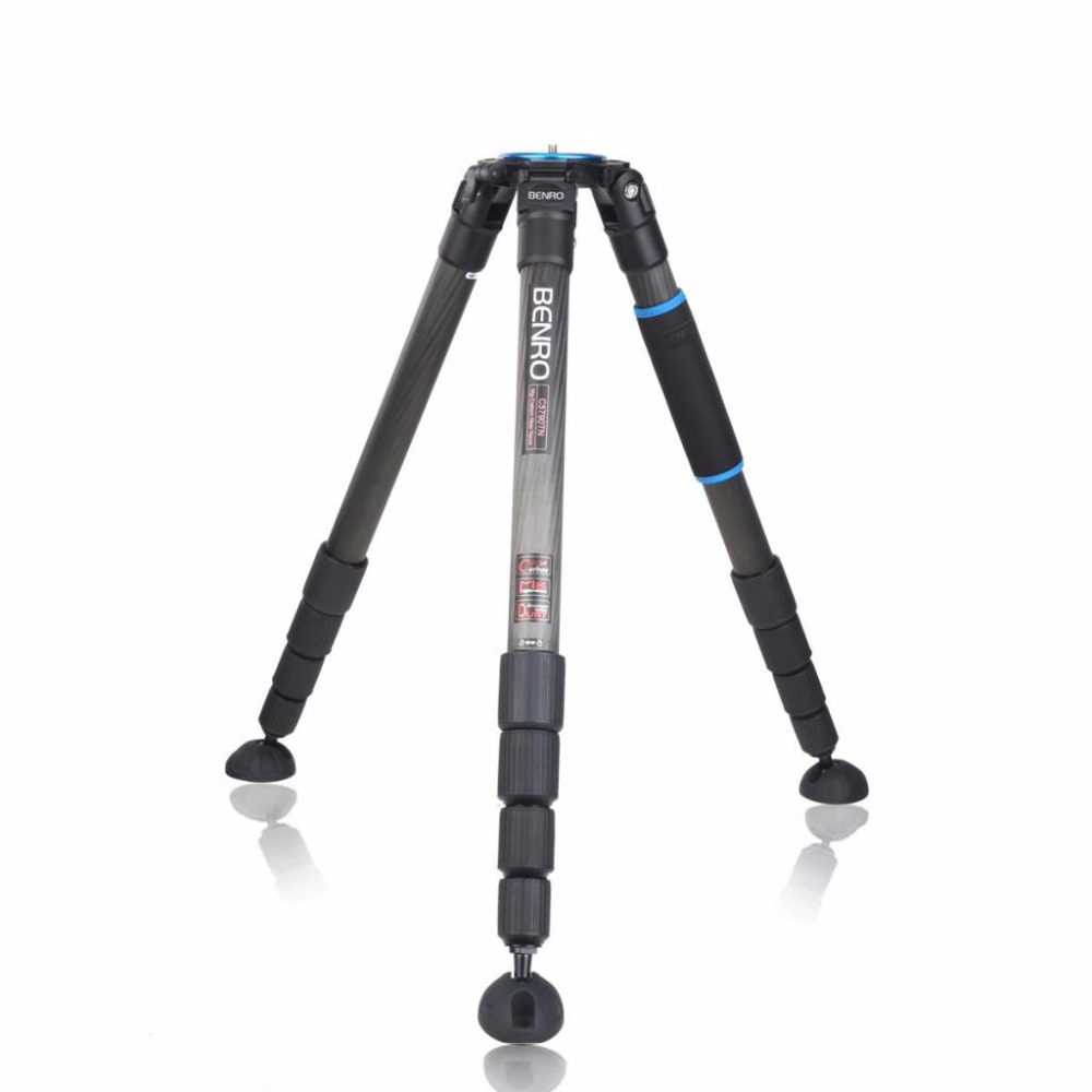 Benro C5790TN Tripod Professional Combination Carbon Fiber Tripods For Camera 5 Section Max Loading 30kg  Free Shipping benro pc0 head professional panoramas heads for camera magnesium alloy panhead panoramas clamp max loading 5kg dhl free shipping