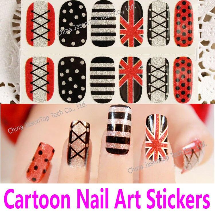 Cartoon Nail Art Designs 2010 – Papillon Day Spa