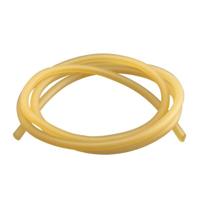 Doğal Lateks Kauçuk Cerrahi Bant Tüp Elastik 2x5mm Sarı boyut: 1 M