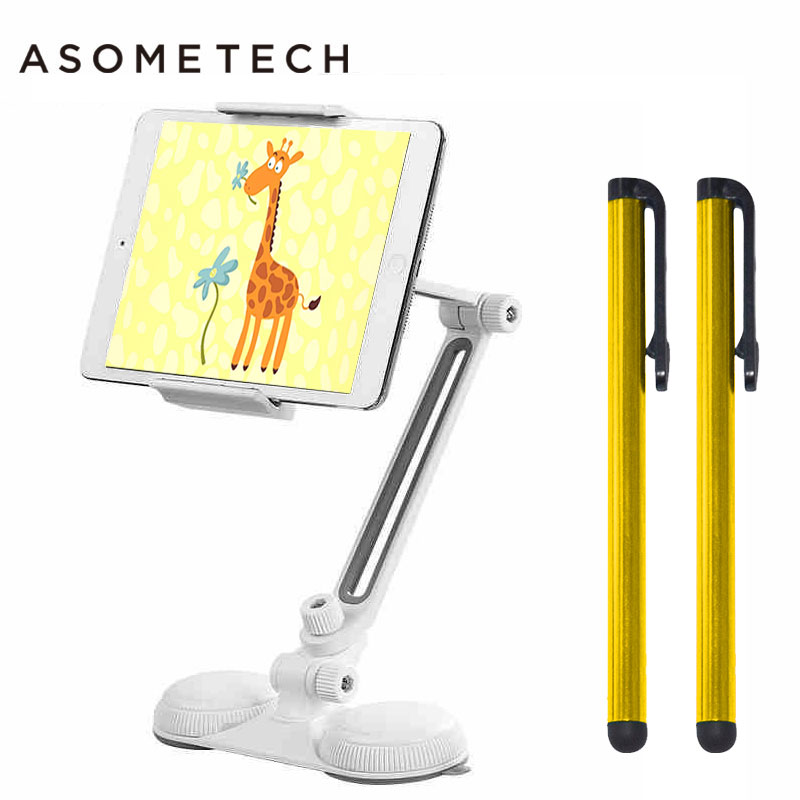 Aluminum Strong Suction 360 Rotation Tablet Stand Support For Ipad 2018 Air Pro