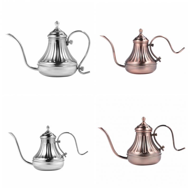 304 Pour Over Coffee Gooseneck Kettle Stainless Steel Tea